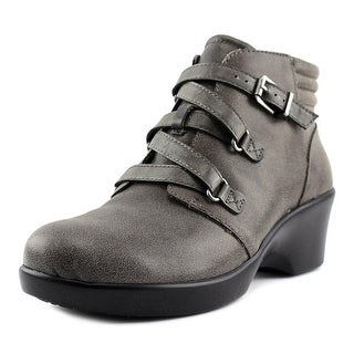 Alegria Indi   Round Toe Leather  Ankle Boot