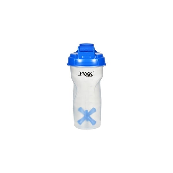 Fit and Fresh Jaxx Shaker - Blue - 28 oz Shaker Bottles