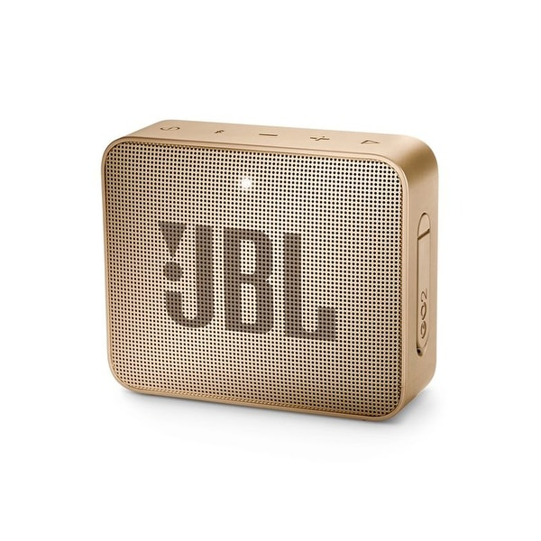 JBL Go 2 Champagne Portable Bluetooth Speaker