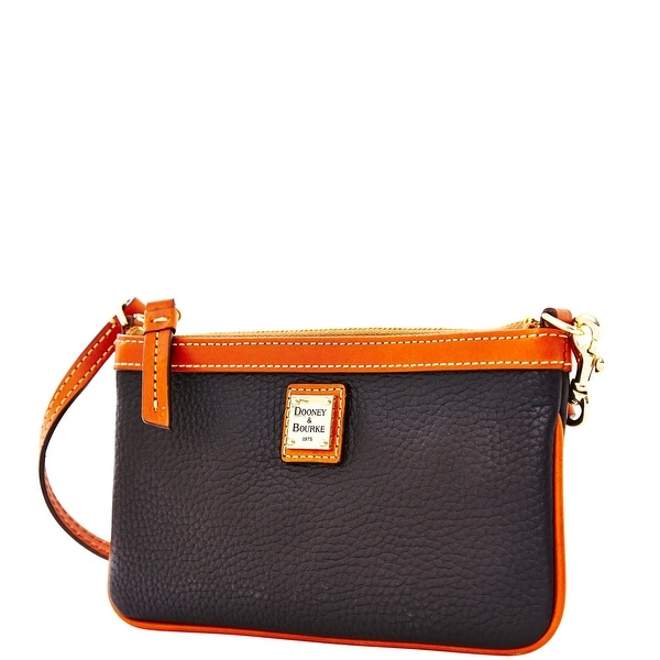 Dooney & Bourke Pebble Grain Large Slim Wristlet (Introduced by Dooney & Bourke at $88 in Jul 2014) - Black