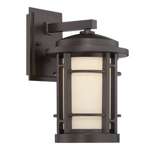 Designers Fountain LED22431 Barrister 1 Light Outdoor LED Wall Sconce