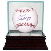 Steve Garvey signed Official Major League Baseball 6 w Glass Case Los Angeles Dodgers