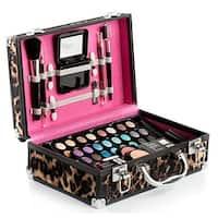 Vokai Makeup Kit Gift Set – 32 Eye Shadows, 2 Blushes, 4 Lipsticks, 1 Dual-tip Eye Pencil, 1 Dual-tip Lip Pencil - Mirror - Case