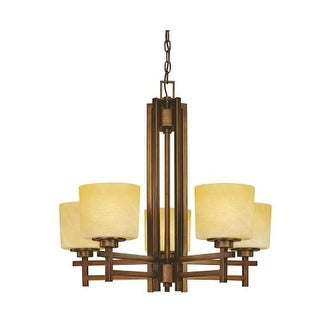 Dolan Designs 2810 Five Light Single Tier Chandelier from the Roxbury Collection