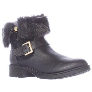 B.O.C. Born Concept Salas Faux Fur Lined Winter Ankle Boots - Black