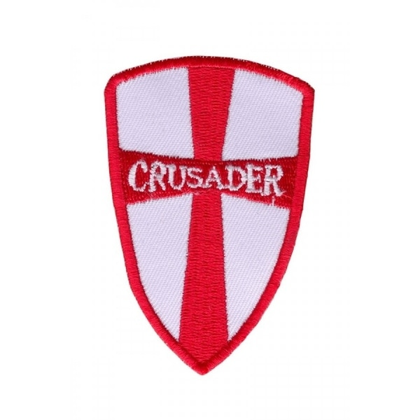 CRUSADER Embroidered Iron On Motorcycle Biker Vest Patch P52