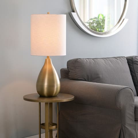 "Molson 29"" Table Lamp - Antique Brass"