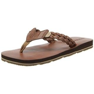 Sperry Girls Topsail Casual Thong Sandals - 5 medium (b,m)