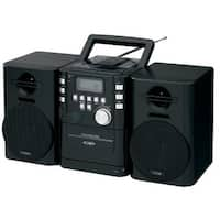 JENSEN JENCD725B Jensen CD725 High Quality Audio CD/Cassette Mini System