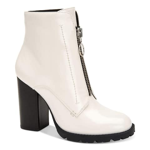 BCBGeneration Womens Pilar Leather Closed Toe Ankle Fashion Boots