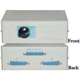 Offex AB 2 Way Switch Box, DB25 Female