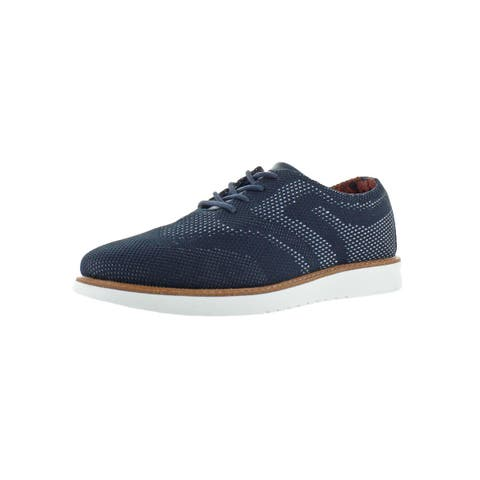 Ben Sherman Mens Omega Casual Oxfords Wingtip Lace-Up