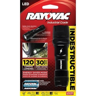 Rayovac Indestructible Industrial Grade Flashlight