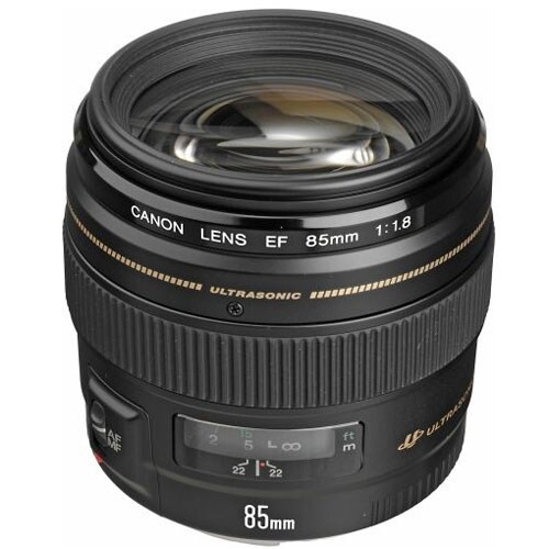 Canon EF 85mm f/1.8 USM Medium Telephoto Lens - Black
