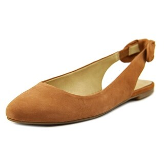 Lucky Brand Alixis Women Round Toe Leather Brown Flats