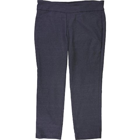 Charter Club Womens Cambridge Pull-On Dress Pants