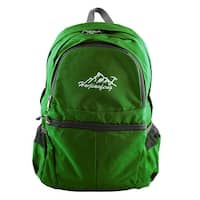 HWJIANFENG Authorized Outdoor Sports Folding Backpack Traveling Bag Green 20L