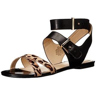 Nine West Women's Darcelle Leather Dress Sandal