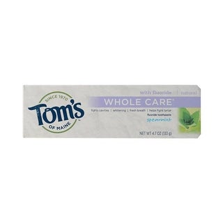 Toms Of Maine 0 Spearmint Whole Care Toothpaste, 4.7 oz - Case o
