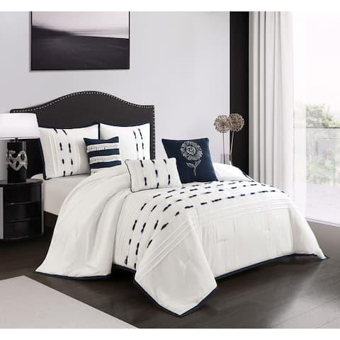 Grand Avenue Beatrice 6-Piece Comforter Set