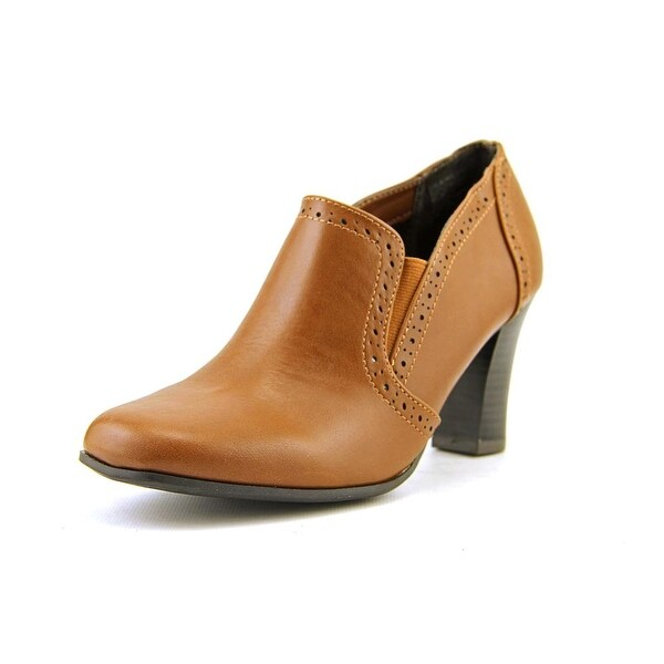Rialto Nora Women Round Toe Synthetic Brown Ankle Boot