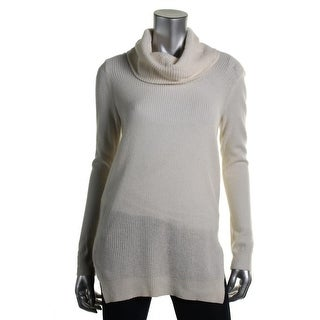 Theory Womens Cashmere Cowl Pullover Sweater - S