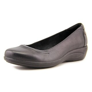 Hush Puppies Veda Round Toe Leather Loafer