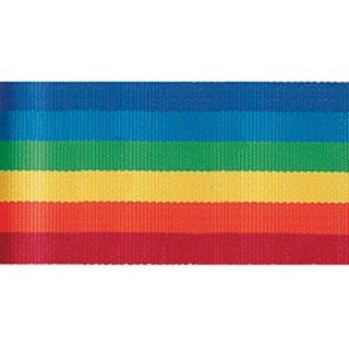 """Rainbow - Stripe Ribbon 5/8""""X3yd"""
