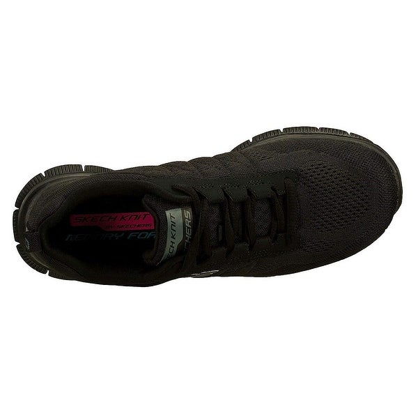 Skechers Flex Appeal Sweet Spot, Damen Sneakers, Schwarz
