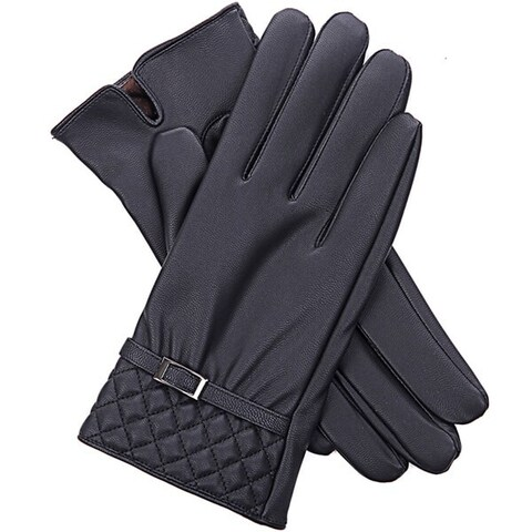 Mad Style No Tips Texting Gloves - Black
