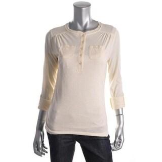 LRL Lauren Jeans Co. Womens Casual Top Stretch Cotton - xs