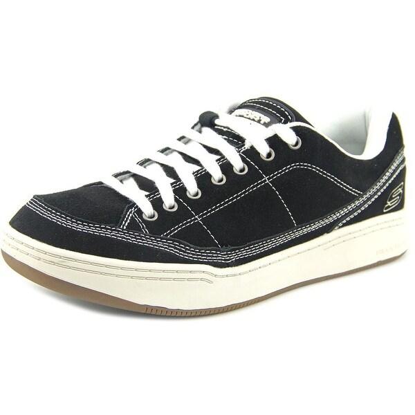 Skechers Klone Cronie Men Round Toe Synthetic Black Sneakers