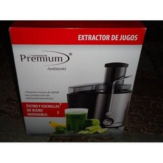 Premium PJE647 Stainless Steel Juice Extractor
