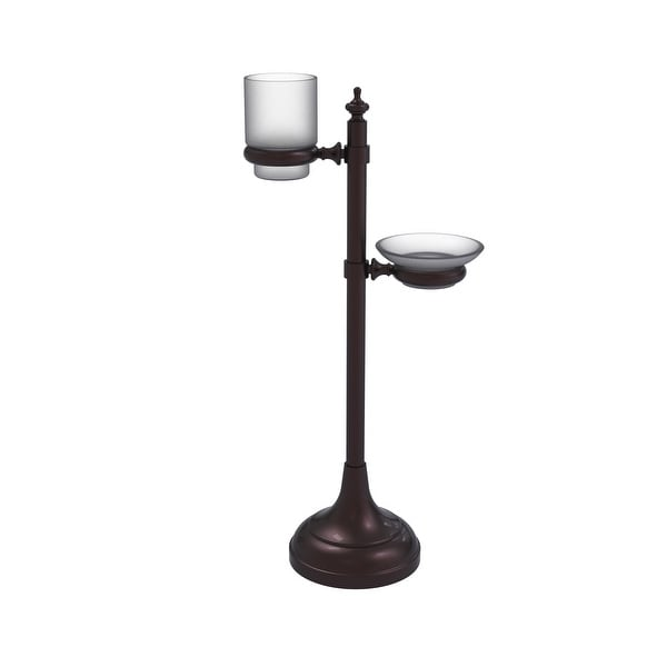 Allied Brass Vanity Top Multi-Accessory Ring Stand