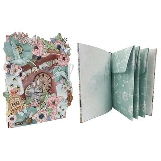 Bo Bunny Butterfly Kisses Shadow Box&Mini AlbumKit
