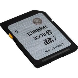 Kingston SD10VG2/32GB Kingston 32 GB SDHC - Class 10/UHS-I - 45 MB/s Read - 10 MB/s Write1 Pack