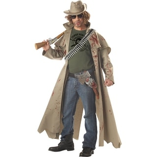 Men's Zombie Hunter Costume, Men's Hunter Costume