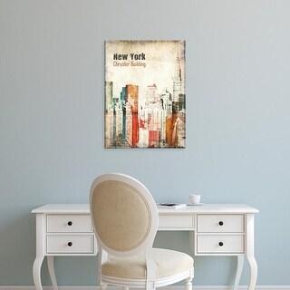 Easy Art Prints Irena Orlov's 'New York Grunge IV' Premium Canvas Art