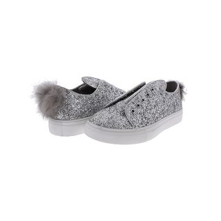 Steve Madden Womens Boca Fashion Sneakers Glitter Casual