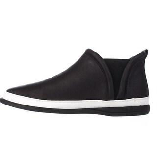 Taryn Rose Womens Freddie Low Top Slip On Fashion Sneakers