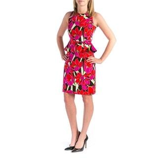 Kate Spade Womens Rio De Janeiro Casual Dress Floral Sleeveless