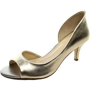 Tahari Race Open-Toe Synthetic Heels