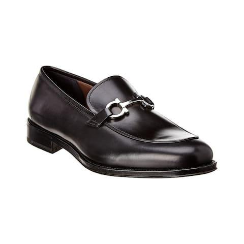 Salvatore Ferragamo Tino Leather Loafer