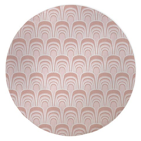 GERTIE PINK Area Rug by Kavka Designs