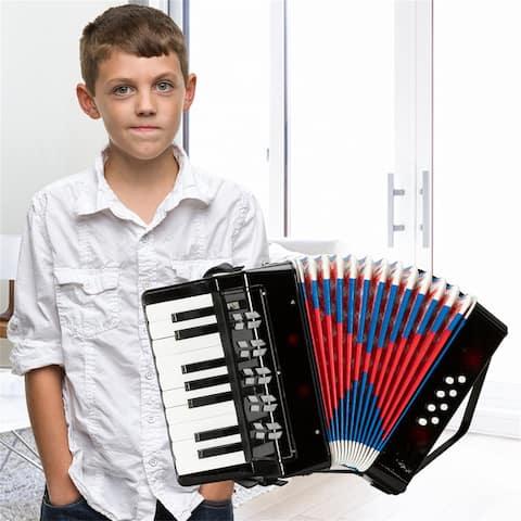17-Key 8 Bass Kids Accordion Children's Mini Musical Instrument Easy