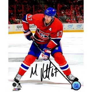 Max Pacioretty Signed Montreal Canadians Action 8x10 Photo