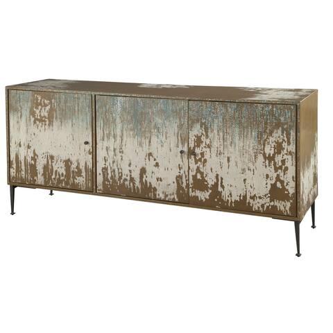 Hekman Furniture Distressed Wood Media Console