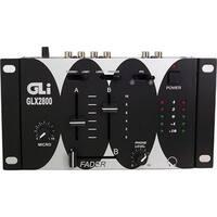 Gli Pro GLX-2800 2-Channel Stereo Mixer