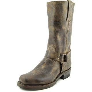 Frye Harness 12R Vintage Round Toe Leather Western Boot