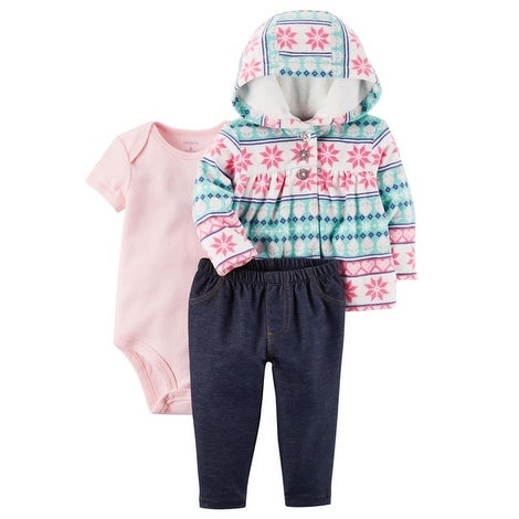 4d75f29ae Shop Carter s Baby Girls  3-Piece Little Jacket Set- Fair Isle- 3 ...